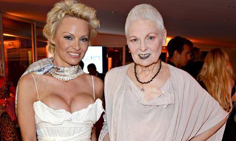 Pamela Anderson and Vivienne Westwood