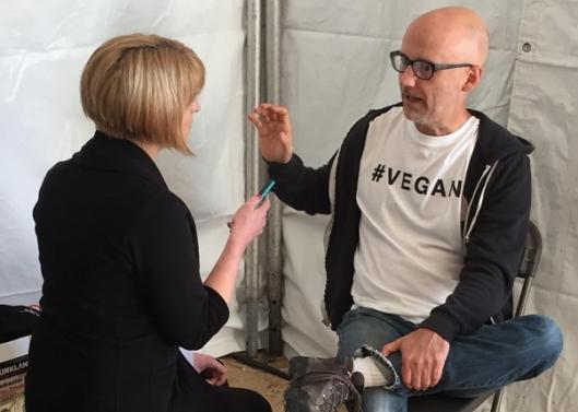 Moby Interview VEGAN