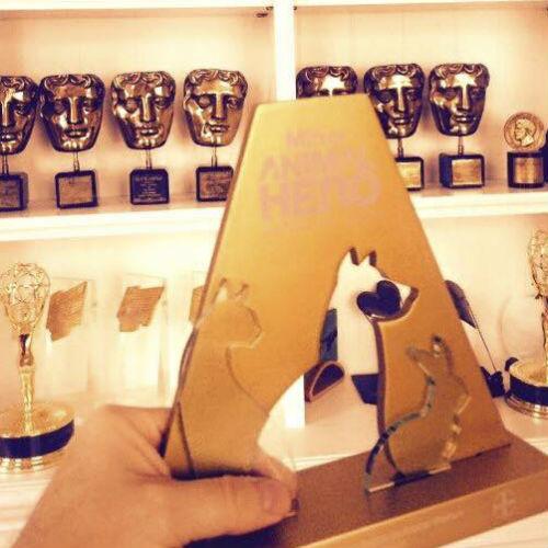 ricky gervais award
